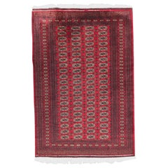 Beautiful Vintage Pakistani Rug Bokhara Design