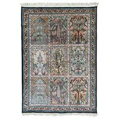 Silk Indian Rugs