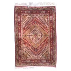 Beautiful Vintage Sinkiang Khotan Rug