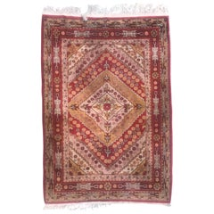 Beautiful Vintage Sinkiang Khotan Rug