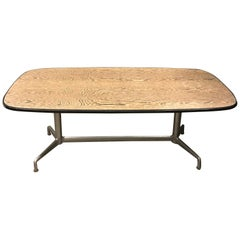 Beautiful Vintage Table with Special Shaped Tabletop by Castelli, circa 1970
