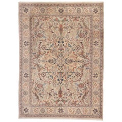 Beautiful Vintage Traditional Rug with Persian Style Herati Design