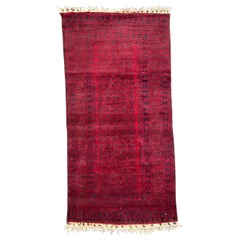 Beautiful Vintage Tribal Baluch Afghan Rug