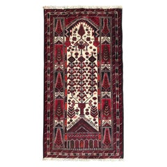 Beautiful Vintage Turkmen Baluch Rug