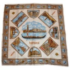 "Beautifully Elegant ""Scenes of Venice"" Scarf"