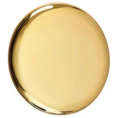 Beauty Mirror Polished Brass by Michael Anastassiades