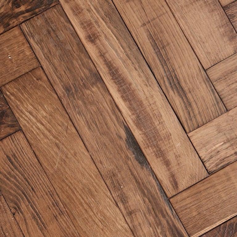 Parquetry Beauvais Oak Parquet Rusticated French Oak Block Flooring For Sale