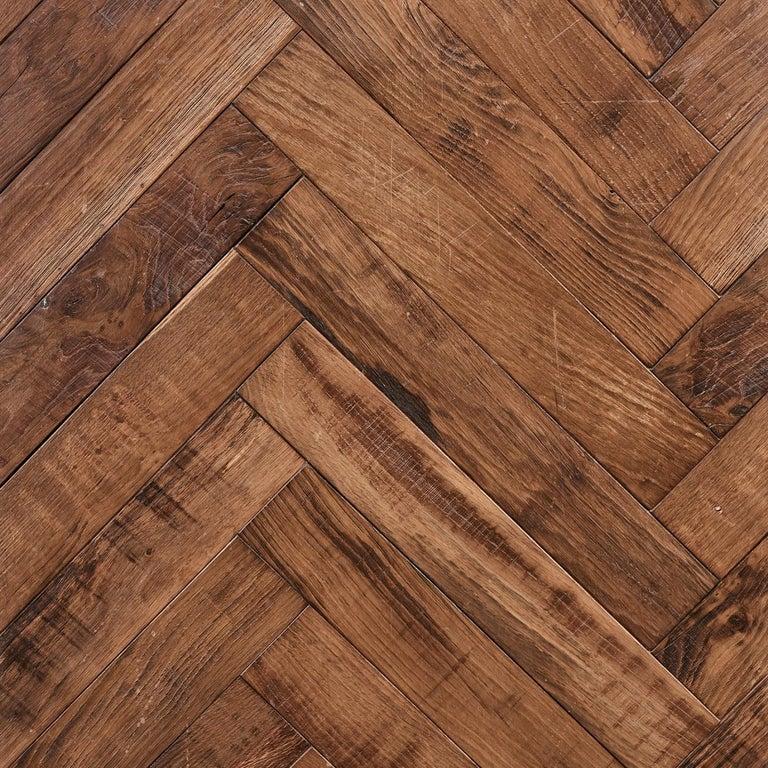 Beauvais Oak Parquet Rusticated French Oak Block Flooring For Sale