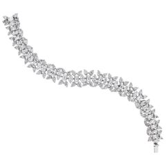 Beauvince Misha Diamond Bracelet in Platinum