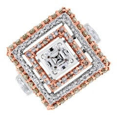 White Diamond Fashion Rings