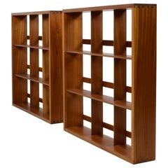 Beaver & Tapley Penguin Bookshelves, Stunning Pair of These Mid-Century Classics