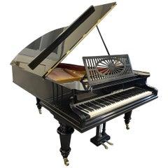 Bechstein Berlin Grand Piano Model A Black Glossy Polish Rebuilt in Germany