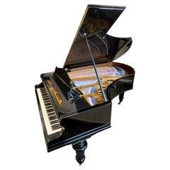 Bechstein Grand Piano Black Ebonized High Gloss Polish Rebuilt in Germany