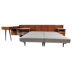Bed and Desk Set by Jindřich Halabala for UP Závody, 1960s