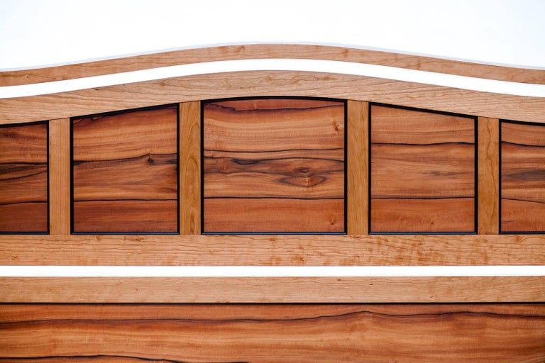Aesthetic Movement Custom Bed by Rossi Studio For Sale