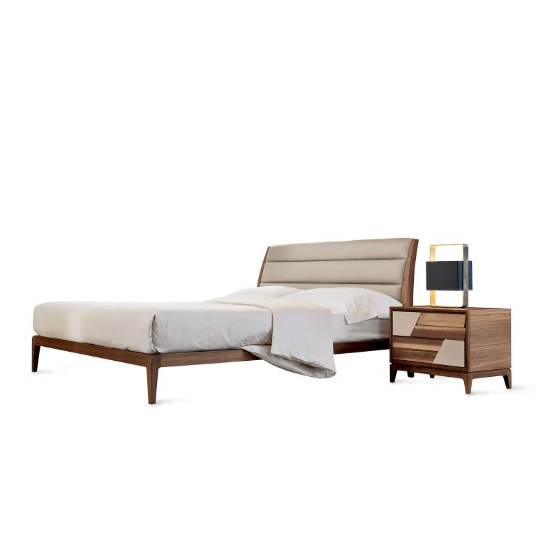 Modern Bed P-112 For Sale