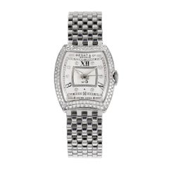 Bedat & Co Ladies No 3 Steel Diamond Bezel Wristwatch
