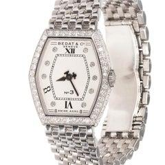 Bedat & Co. Ladies Stainless Steel Diamond Quartz Wristwatch Ref 306
