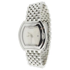 Bedat & Co. No. 3 Ladies Stainless Steel Watch Quartz #334 Ivory Dial