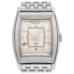 Bedat & Co No. 7 708, Silver Dial, Certified and Warranty