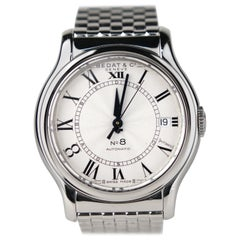 Bedat & Co. No.8 Stainless Steel Automatic Wristwatch
