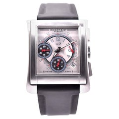 Bedat Stainless Steel Chronograph