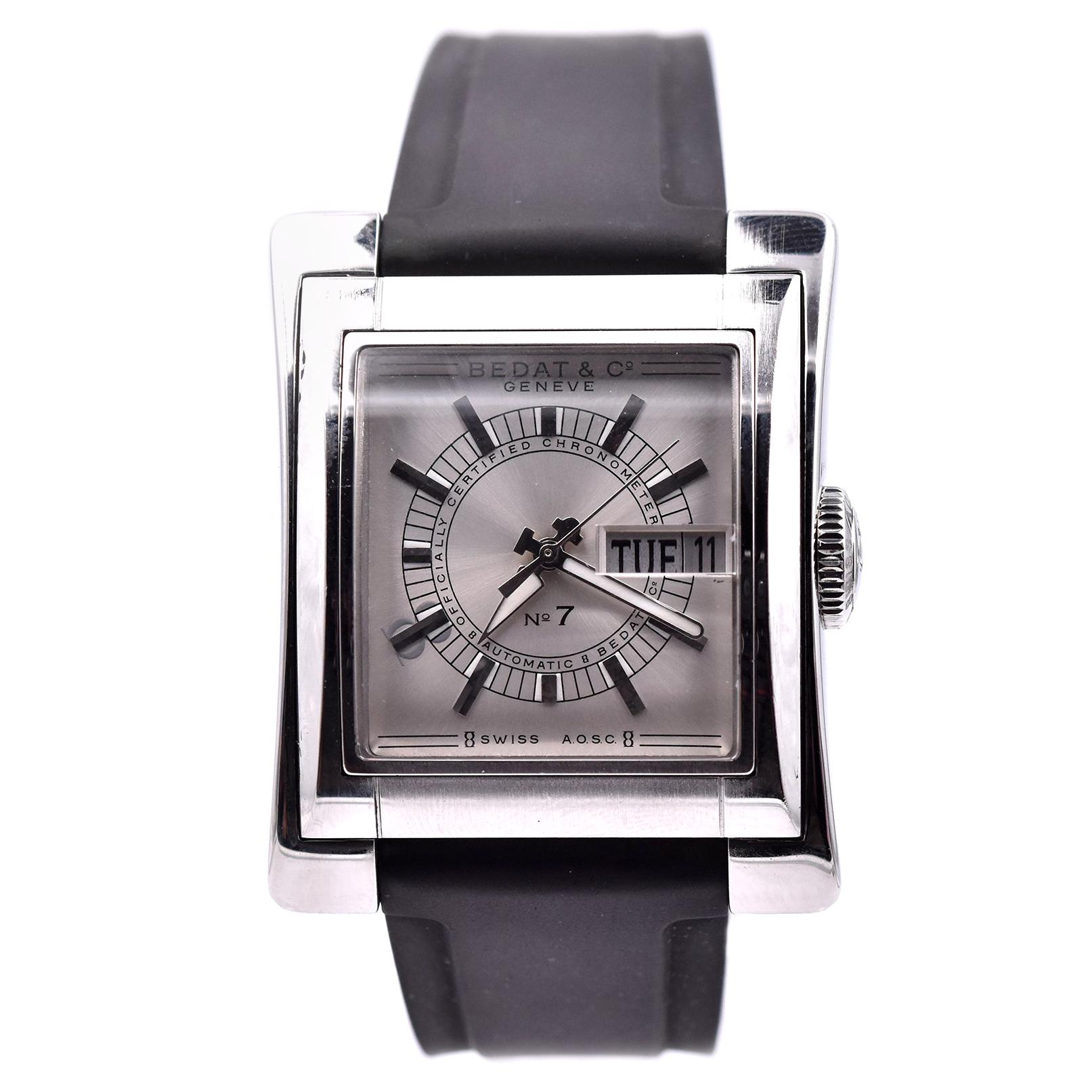 Bedat Stainless Steel No.7 Day Date