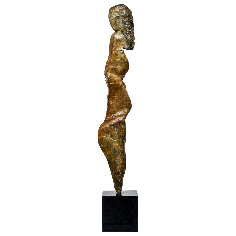 'Bedouina' Bronze Figurative Sculpture