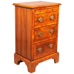Bedside or Mini Chest from the 19th Century in Blurr Walnut
