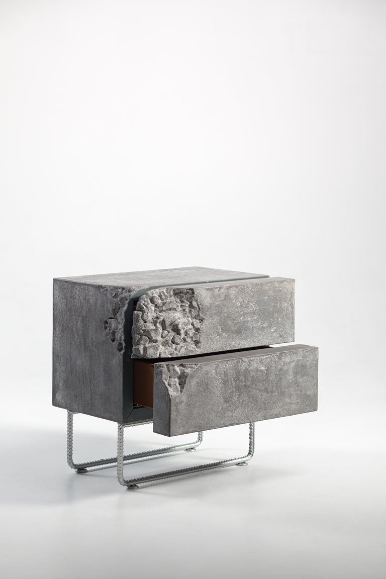 Ukrainian Bedside Table Breakfree Collection, Perfect Item Designed for Your Bedroom Space For Sale
