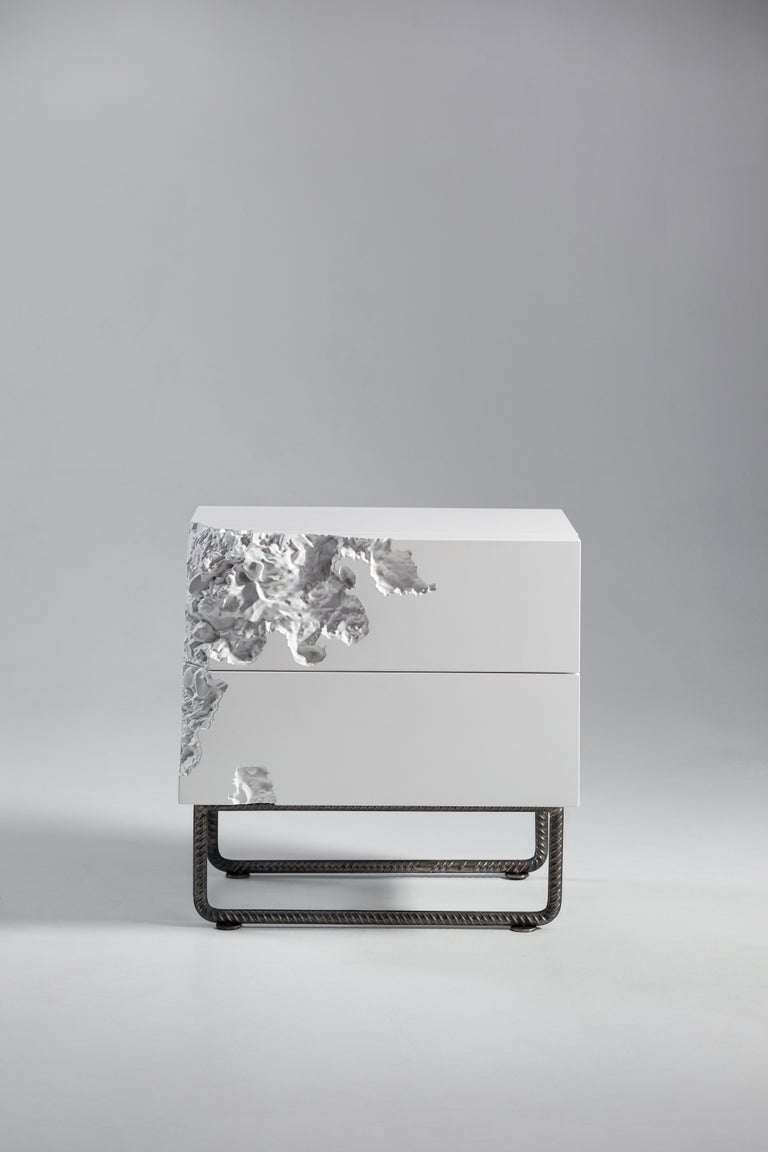 Bedside Table Breakfree Collection, Perfect Item Designed for Your Bedroom Space In New Condition For Sale In Kyiv, UA