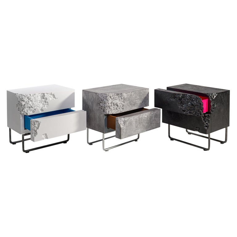 Bedside Table Breakfree Collection, Perfect Item Designed for Your Bedroom Space For Sale