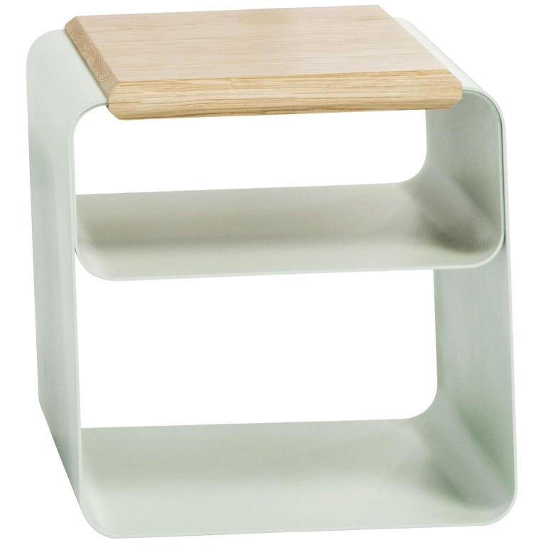 Bedside Table Or Stool Little By Mauro Accardi Silvia Buccheri For Medulum