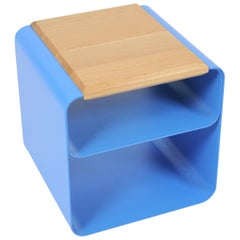 Bedside Table or Stool or Open Container in Shaped Sheet