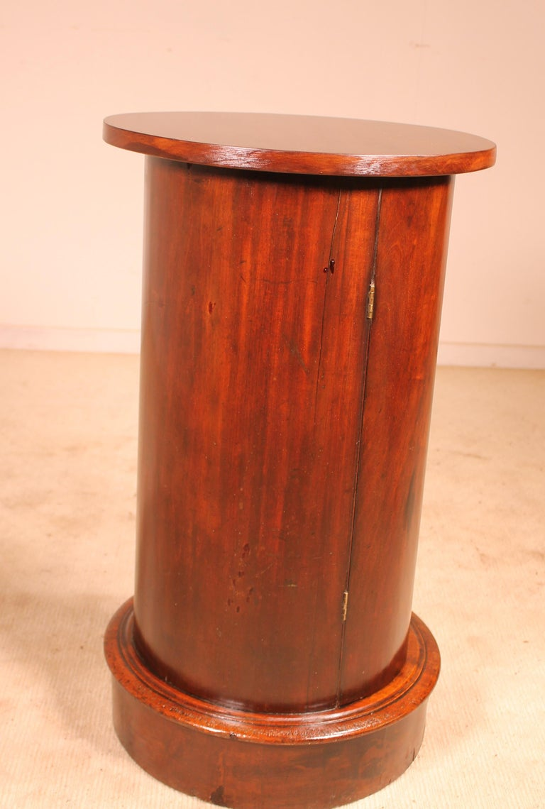 Bedside Table/Small Gueridon Called Somno 19th Century Empire Style For Sale 1