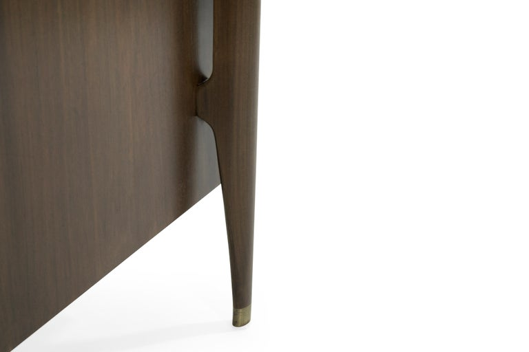 Bedside Tables by Jorgen Clausen in Rosewood, Denmark, 1950s For Sale 3