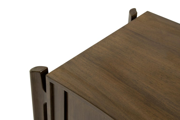 Bedside Tables by Jorgen Clausen in Rosewood, Denmark, 1950s For Sale 5