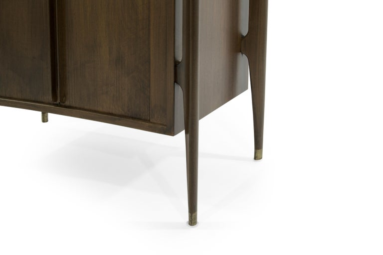 Bedside Tables by Jorgen Clausen in Rosewood, Denmark, 1950s For Sale 2