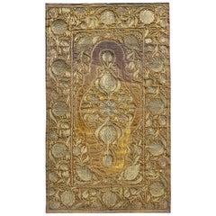 Bedspread TableCloth Gold Threadwork Wirework Velvet Ottoman Baroque Embroidered