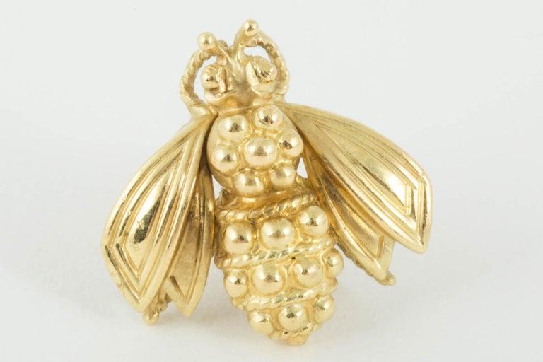 Modern Bee Stud Earrings by Tiffany & Co. For Sale