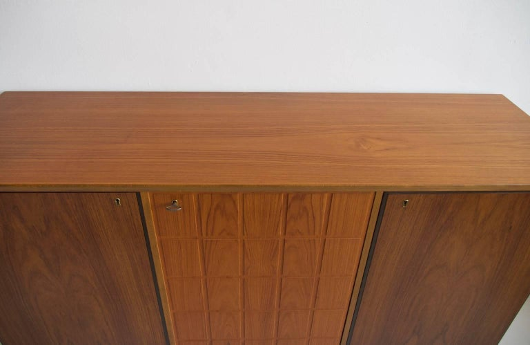 Beech and Teak Sideboard by Tabergs Mobler In Good Condition For Sale In Madrid, ES
