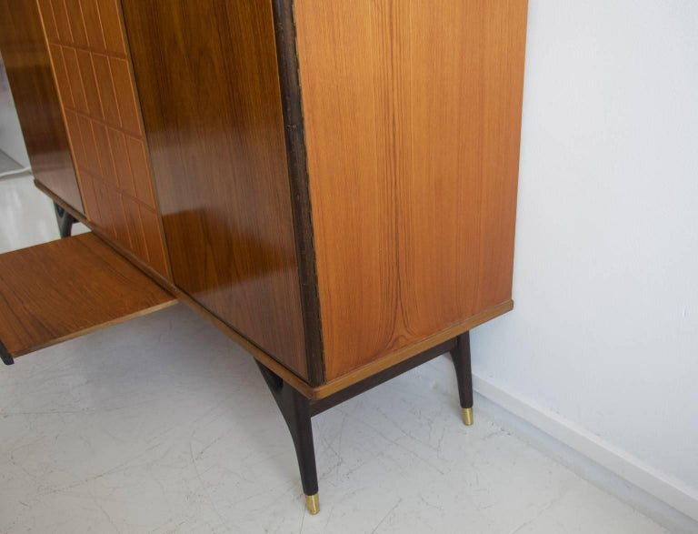 Beech and Teak Sideboard by Tabergs Mobler For Sale 2