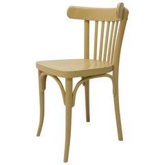 Beech Bentwood Chair from Thonet, 1950s