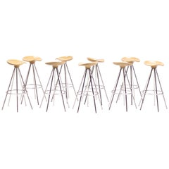 Beech Jamaica Bar Stools by Pepe Cortés for BD Barcelona