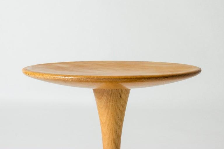 Scandinavian Modern Beech Stool/Table