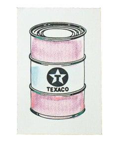 BEEJOIR OIL CAN (Pink Hand Embellished Unique)
