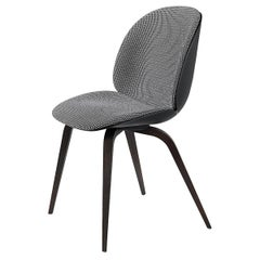Beetle Dining Chair, Front Upholstered, American Walnut Base