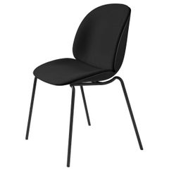 Beetle Dining Chair - Front Upholstered - Stackable Base