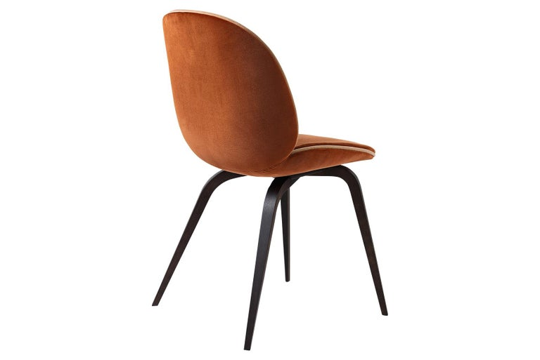 Beetle Dining Chair, Fully Upholstered, Natural Oak For Sale 1