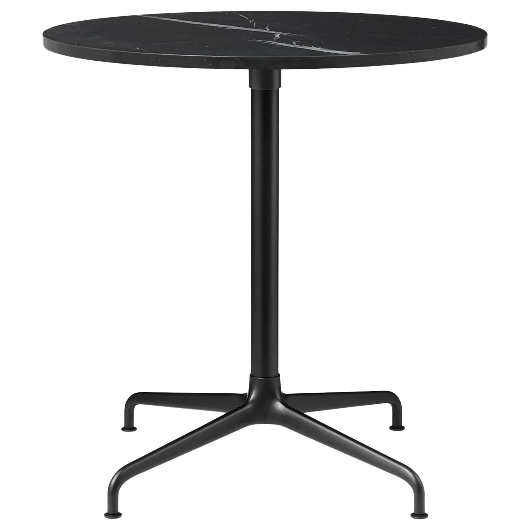 Beetle Dining Chair, Round, 4-Star Base, Large, Marble